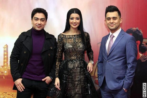 2017 жылдың биринши ярымында ең көп сүўретке түскен өзбекистанлы актёрлар (фото)