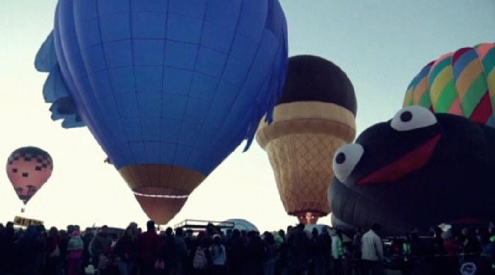 Мексикада ҳаўа шарларының фестивалы басланды